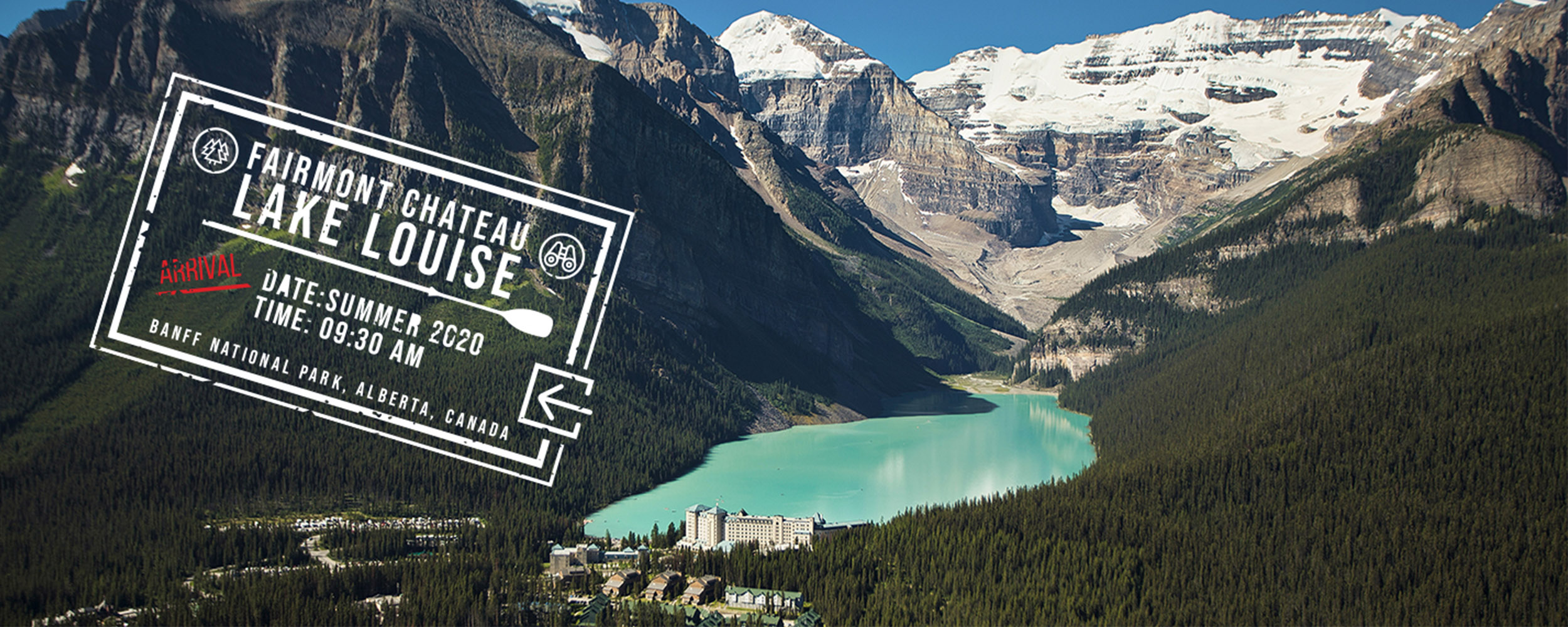 together again passport offer lake louise