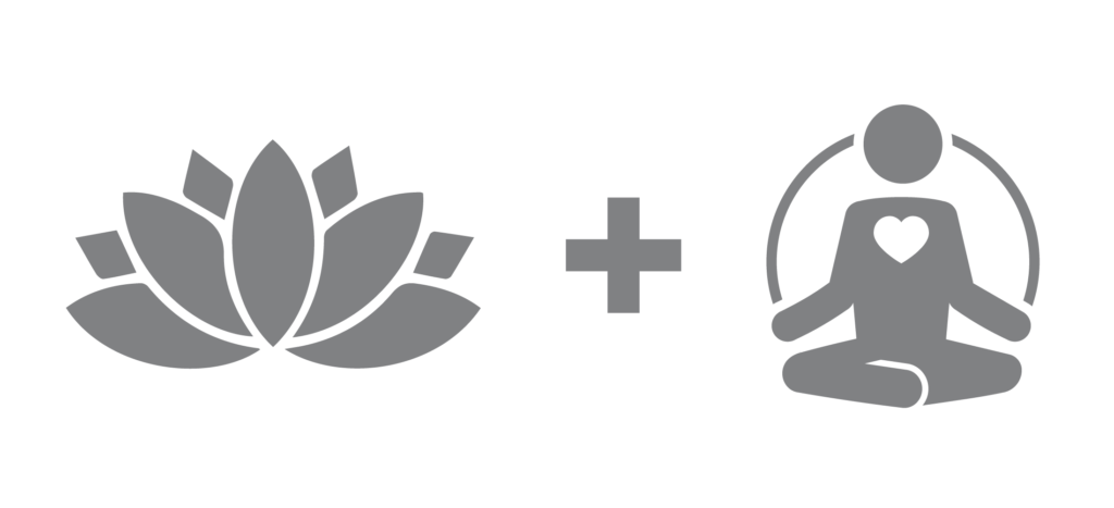 minfulness and yoga icons