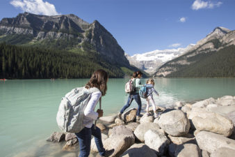 Perfect family itinerary for a Lake Louise vacation