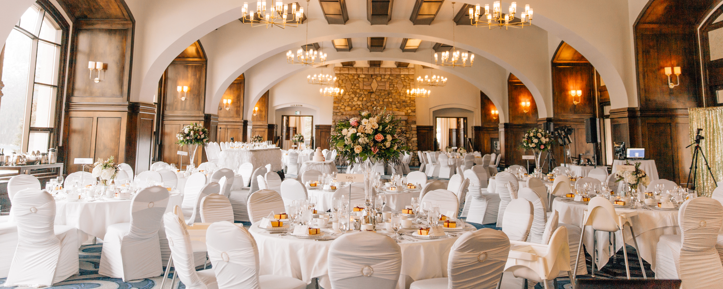 Celebrate special events at the Fairmont Chateau Lake Louise