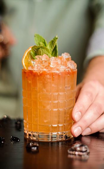 Locally sourced and seasonally inspired cocktails in the heart of Banff National Park