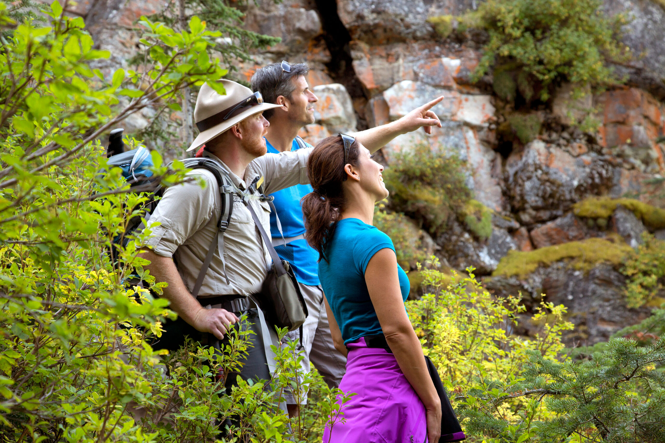 guided hikes in banff national park