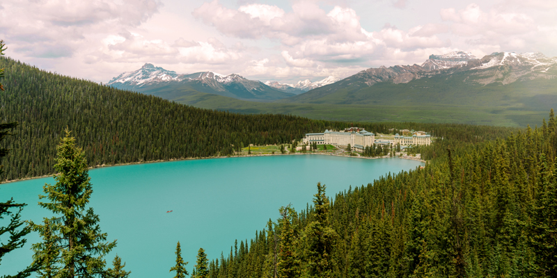 Summer in the heart of Banff National Park.