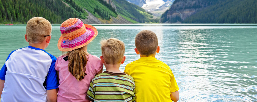 Family Friendly vacations at Fairmont Chateau Lake Louise