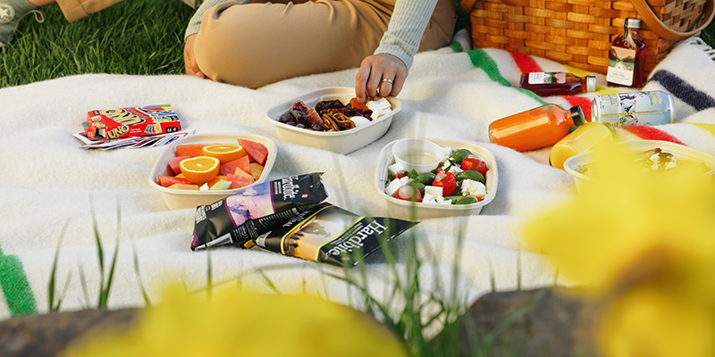 Summer Grab 7 Go Picnics from the Guides pantry.