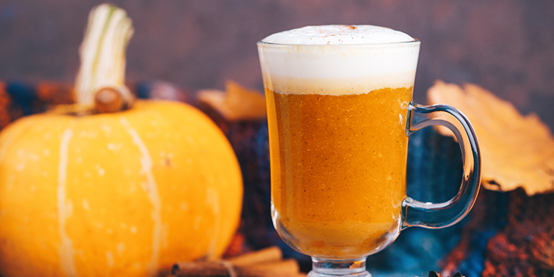Pumpkin Spiced latte from Guide's Pantry